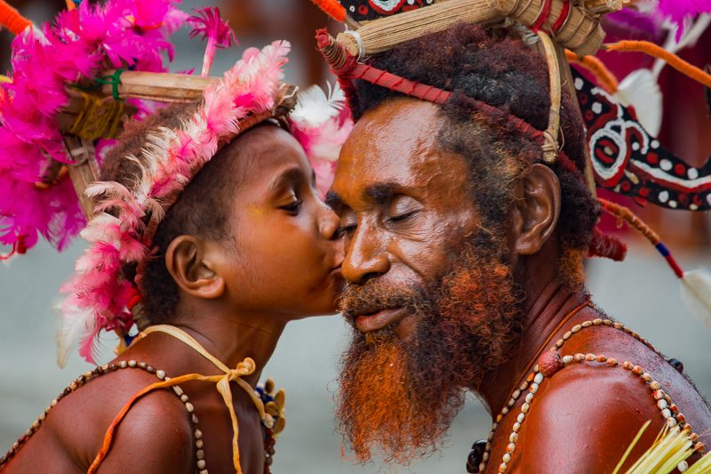 The people of New Guinea